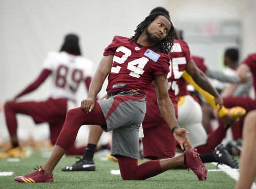 """Football is easier for Josh Norman after """"Dancing With the Stars"""""""