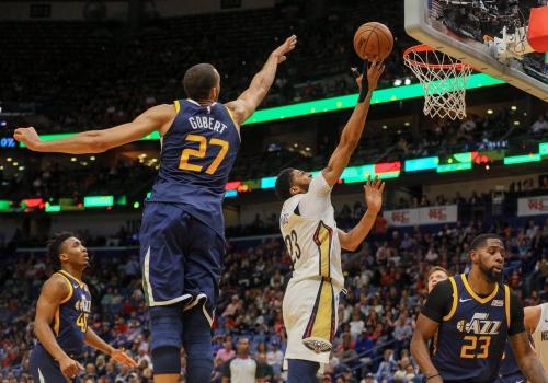 Jazz's Rudy Gobert, Pelicans' Anthony Davis Headline 2017-18 NBA All-Defensive Teams