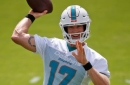 Ryan Tannehill back practicing with Dolphins, ready to put knee injury behind him