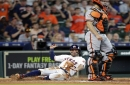 Samardzija's command off the mark, Giants swept in two games by Astros