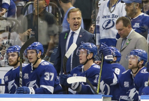 Lightning coach Jon Cooper on Game 7s: 'It's like you're writing history'