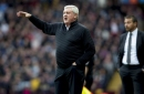 Aston Villa's pre Wembley training session had to be cut short - Steve Bruce explains why