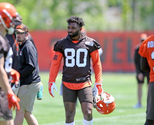 Browns' Jarvis Landry: 'I consider myself the best receiver in the NFL
