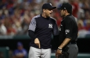 Aaron Boone doesn't want Yankees to chase despite strike calls