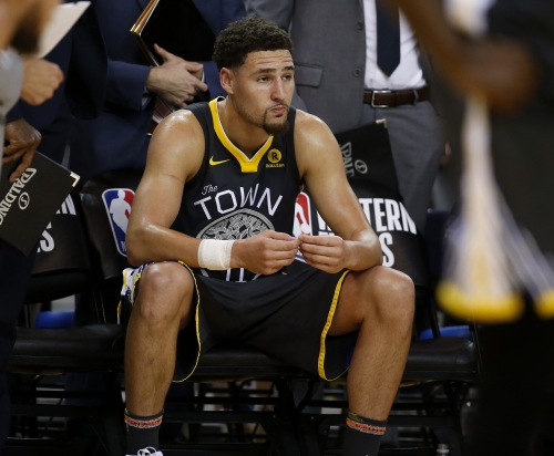NBA playoffs: Klay Thompson, Andre Iguodala listed as questionable for Game 5 vs. Rockets