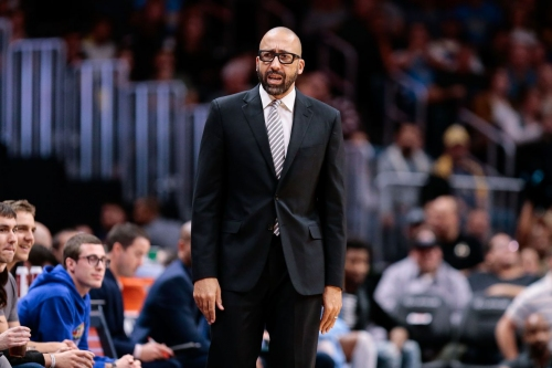 David Fizdale is taking his Knicks kids to the Celtics game tonight