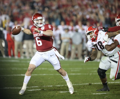 Oklahoma football: Baker Mayfield struggles in first NFL organized team activities