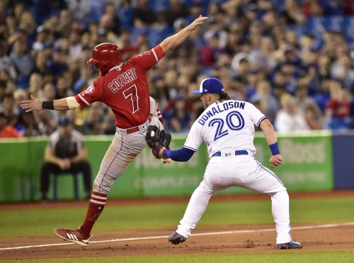 Angels rally for victory over Blue Jays with 4-run 9th inning