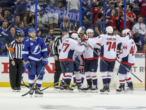 Lightning's season ends one win short of Stanley Cup final with 4-0 loss to Capitals