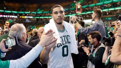 Celtics Rookie Jayson Tatum Makes History With Stellar Game 5 Performance