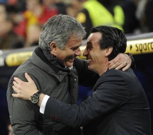 How has new Arsenal head coach Unai Emery performed against Pep Guardiola, Jose Mourinho and Jurgen Klopp?