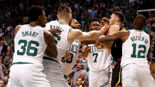 Celtics React To Heated Altercation With Larry Nance Jr., Cavs In Game 5