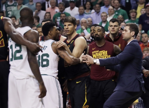Boston Celtics discuss triple technical vs. Cleveland Cavaliers: 'I can't say that on camera'