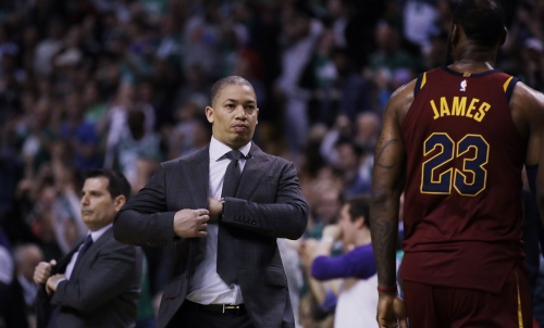 Cleveland Cavaliers were 'thrown for a loop' when Boston Celtics did not play Semi Ojeleye in Game 5