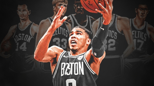 Jayson Tatum has scored more playoff points than any rookie since 1976