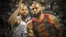 Boston adjusted to have Marcus Morris shadow LeBron James more in Game 5