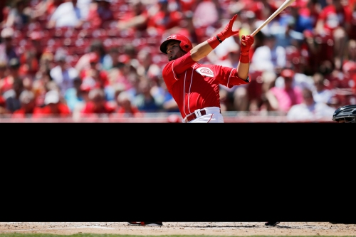 Eugenio Suarez blasts grand slam, Luis Castillo solid in Cincinnati Reds win over Pittsburgh Pirates