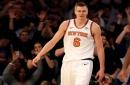 Kristaps Porzingis pumped about new Knicks coach David Fizdale