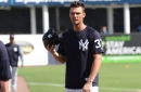 Yankees manager Boone says Greg Bird likely to return Saturday
