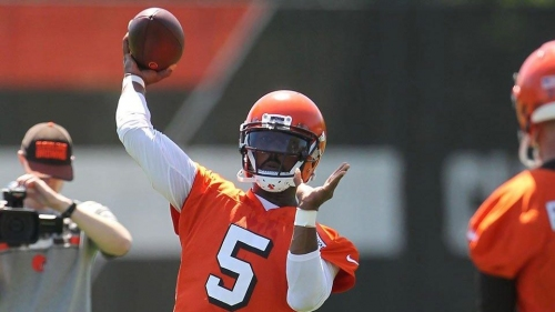 Browns GM John Dorsey 'very excited' about Tyrod Taylor