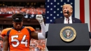 Brandon Marshall responds to President Trump's National Anthem comment