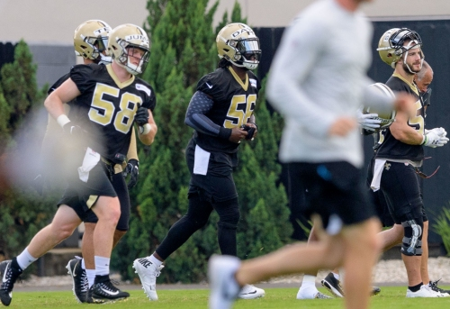 Saints players react to NFL's new anthem policy