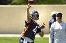 QB Case Keenum led Broncos offense pushing defense early in OTAs