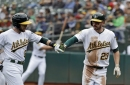 A's bullpen pieces together solid outing in win over Mariners