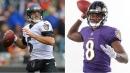 Ravens QB Joe Flacco says team welcomes Lamar Jackson 'with open arms'