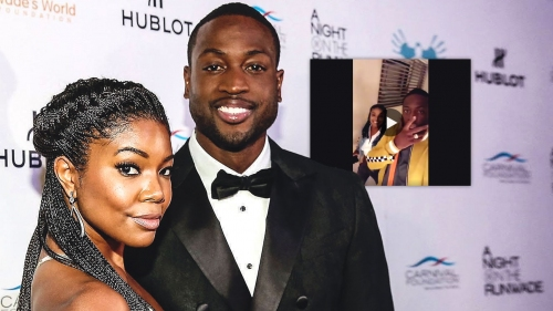 Buzzed Dwyane Wade has fun on Snapchat with wife Gabrielle Union