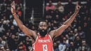 James Harden makes dubious history with 3-point bricks