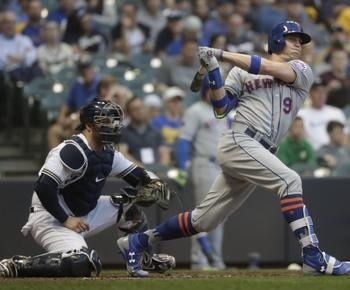 Nimmo reaches 5 times, Matz sharp as Mets beat Brewers 5-0