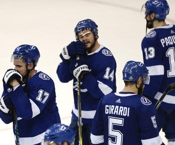 Lightning disappointed, but don't feel like playoff failures