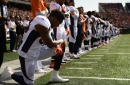 "Kiszla: Brandon Marshall does Broncos Country proud, won't be bullied by President Trump's ""disgusting"" anthem stance"
