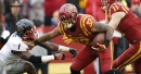 Iowa State RB David Montgomery set record for most missed tackles forced in 2017, per PFF