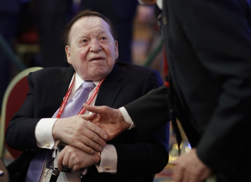 Guatemala minister: Sheldon Adelson flew officials to Israel