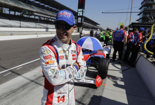 Kanaan paces Indy 500 field in final Carb Day practice