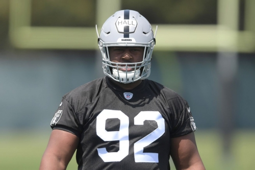 Good idea for Raiders to put P.J. Hall at nose tackle