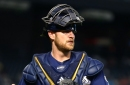 Milwaukee Brewers acquire catcher Eric Kratz from the Yankees, DFA Jett Bandy