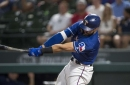 Rangers go with regular lineup tonight against Royals
