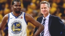 Warriors wanted tweet of Steve Kerr-Kevin Durant conversation about Michael Jordan deleted