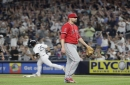 Angels waste Andrew Heaney's strong start in 2-1 loss to Yankees