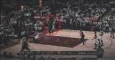 Video: Marcus Smart blocks LeBron James' dunk attempt