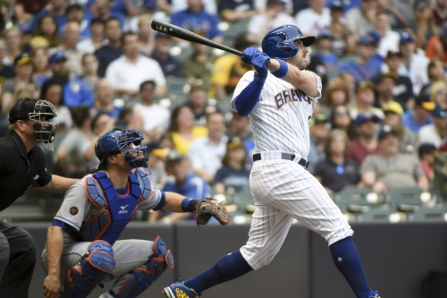 Brewers blow late lead but 'walk-off' Mets 4-3 in 10 innings