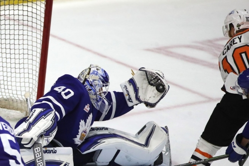 Marlies 3, Phantoms 1: That's all she wrote