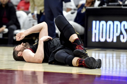 How will Kevin Love's status impact Game 7?