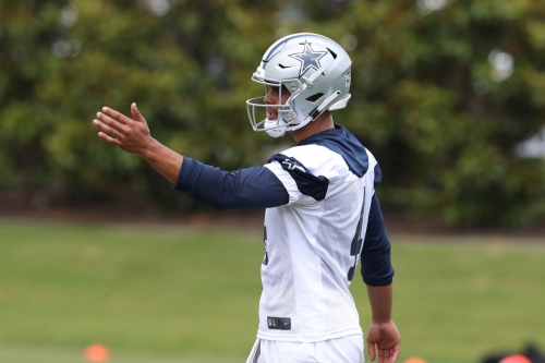 Cowboys OTA's: The locker room leadership void will be filled by QB Dak Prescott