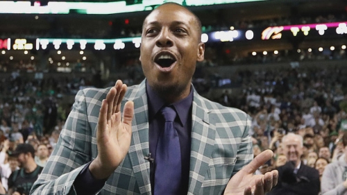 Paul Pierce Jokingly(?) Signs Off On Isaiah Thomas Tribute For Game 7