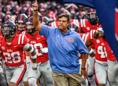 Matt Luke ready to lead Mississippi resurgence after NCAA turmoil