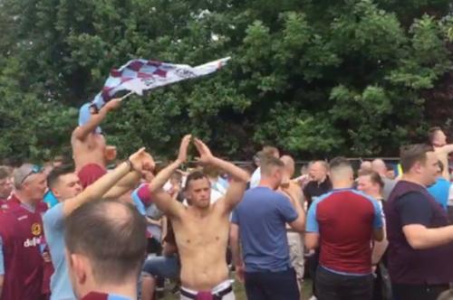 Watch: Aston Villa fans turn Green Man pub claret and blue ahead of Championship play-off final